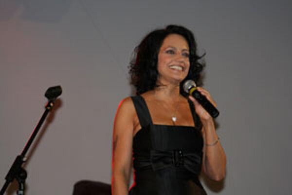 Lucie Bílá spievala v Holíči prvýkrát.