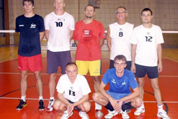 Víťazné družstvo Malacky B.