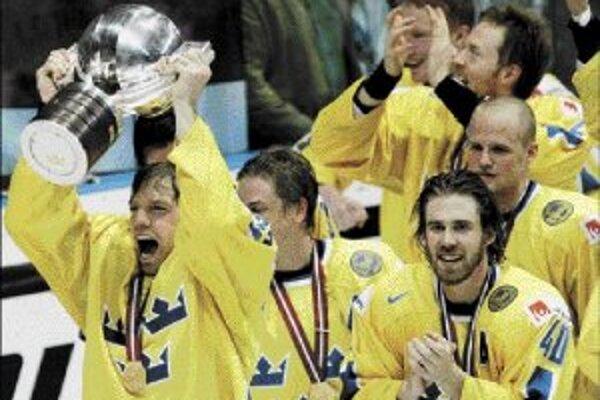 Na hokejových MS v Moskve budú vlaňajšie prvenstvo z Rigy obhajovať Švédi.