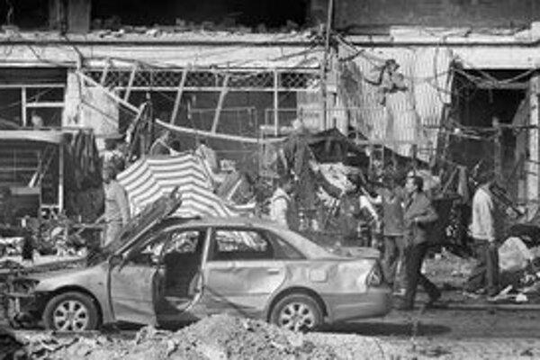 V Bagdade vybuchla bomba na trhovisku.