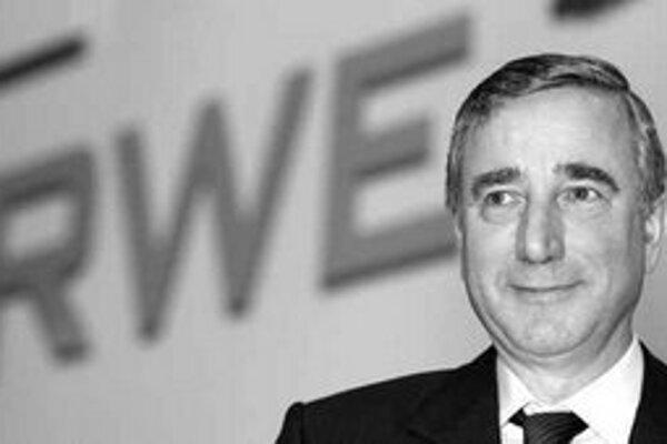 Śéf koncernu RWE Harry Roels.