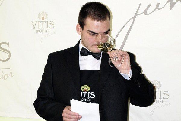 Víťaz Vitis Trophée Junior 2014 Adam Fabián.