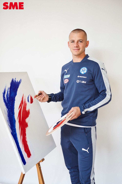 Vladimír Weiss vymenil kohúta za maliarsku paletu.