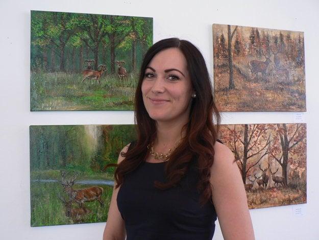 Lucia Turbeková a jej realistické výstavy prírody.