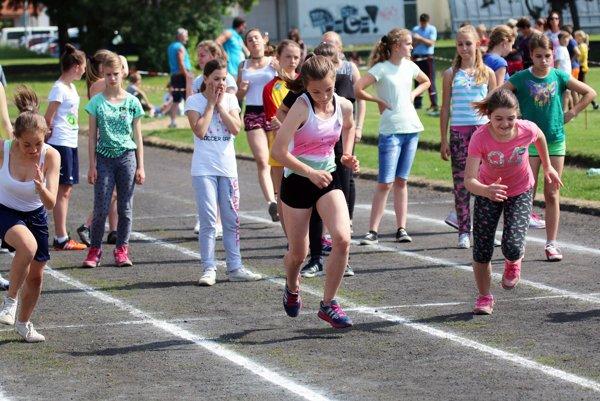 Deti súťažili na prvej hornonitrianskej olympiáde.