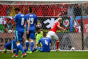 Týmto gólom slovenská reprezentácia prehrala zápas s Walesom.