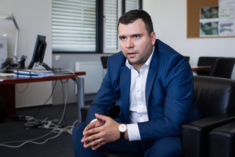 Róbert Auxt v rozhovore pre denník SME.