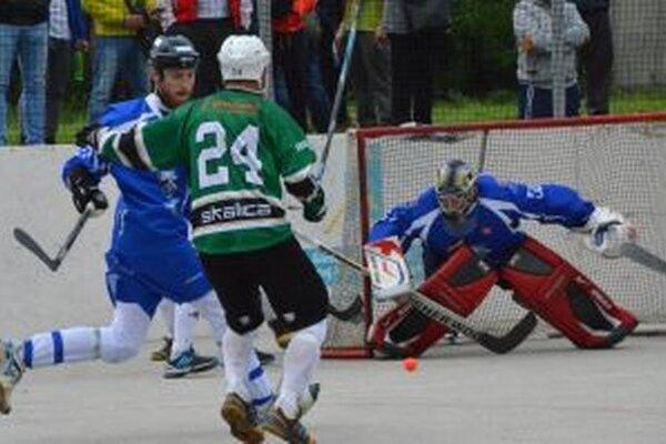 Patrik Polc bol opäť veľkou oporou, Skaličania boli naňho prikrátki.