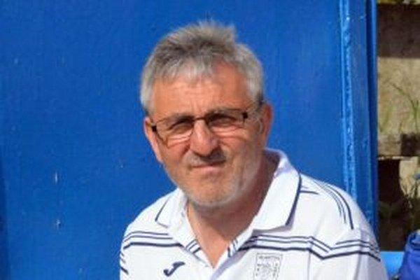 Jozef Šino, dnes už bývalý tréner Martina.