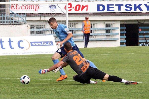 Andrej Ivančík strelil v rozlúčke so sezónou tri góly do siete Lokomotívy Košice.