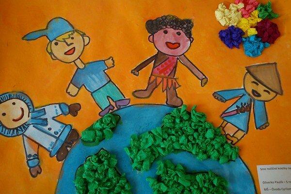 Z výtvarnej súťaže detí.