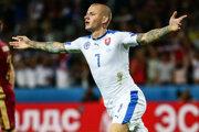 Vladimír Weiss nie je v nominácii Vladimíra Weissa na zápas s Anglickom. Dôvodom absencie majú byť zdravotné problémy. V prípravnom zápase svojho klubu ale nastúpil.