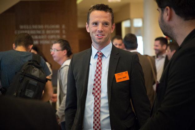 Richard Lintner počas kongresu.