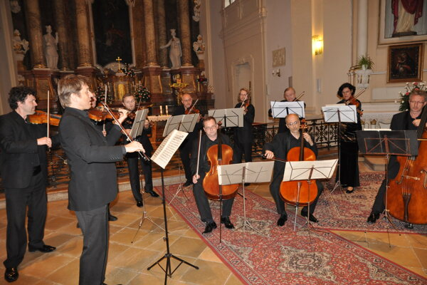 Festival otvoril koncert Janáčkovho komorného orchestra.