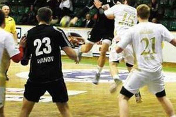 Ilustračná fotografia zo zápasu v N. Zámkoch.