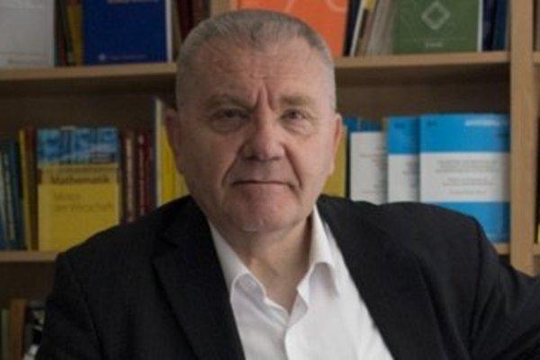 Prezident Európskej rady pre výskum Jean-Pierre Bourguignon.