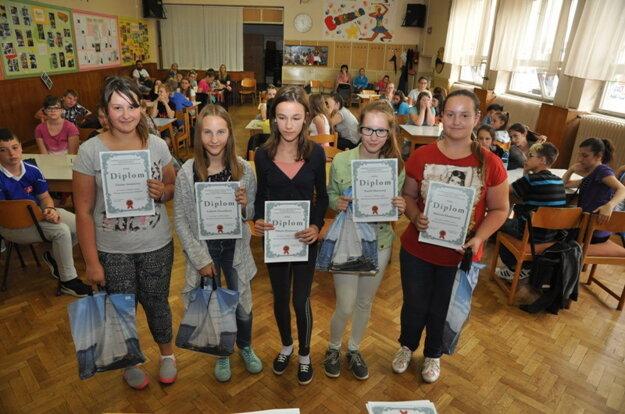 Tretie miesto získali domáci žiaci ZŠ P. K. Hostinského.