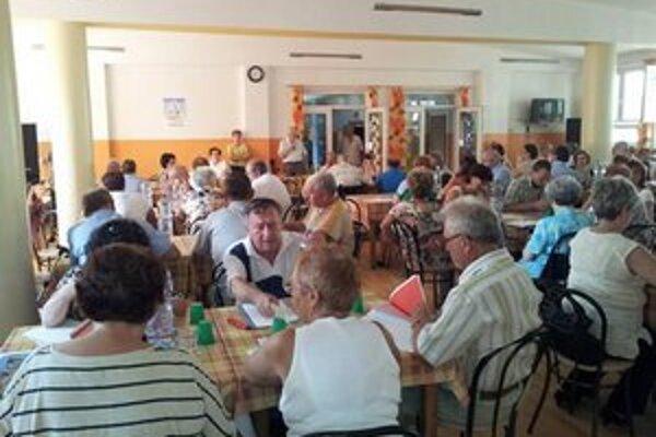 Zo stretnutia členov SZTP v Komárne.