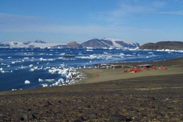 Výskumná stanica J. G. Mendela v Antarktíde.