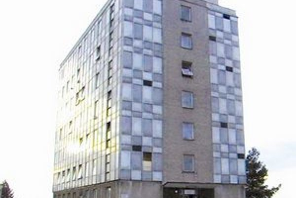 Budova dnes už bývalej slobodárne.