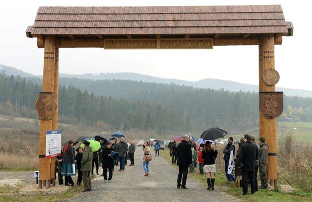 Vstupná brána do atraktívneho Národného parku Slovenský raj.