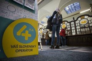 Swan sa spojil so štátnou Slovenskou poštou, služby mobilného operátora 4KA sa preto predávajú na poštách.