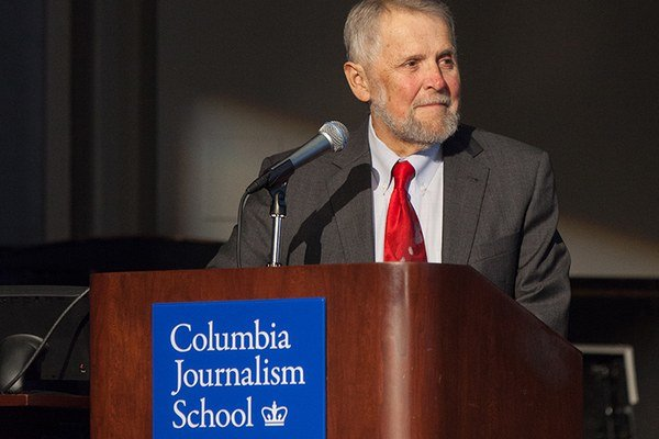 Mike Pride pochádza zo štátu New Hampshire a v minulosti bol editorom miestneho magazínu Concord Monitor. Napísal niekoľko kníh o druhej svetovej vojne a americkej občianskej vojne. Členom Pulitzerovej rady je deväť rokov, v júli 2014 sa stal administráto