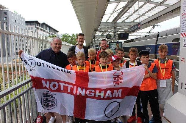 Stretnutie s fanúšikmi anglického Nottinghamu.