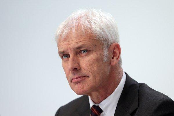 Šéf Volkswagenu Matthias Müller.