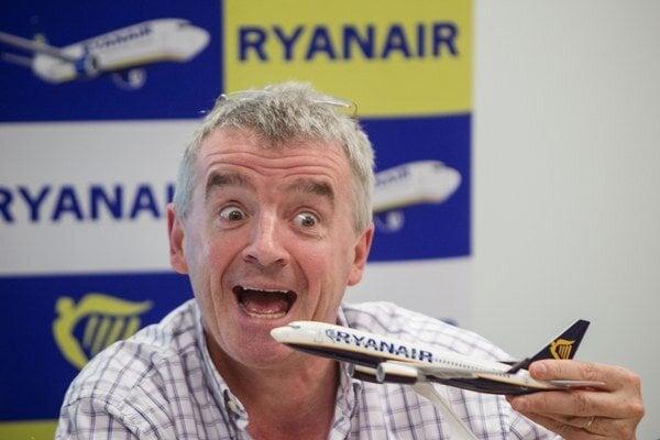 Šéf leteckej spoločnosti Ryanair Michael O'leary.