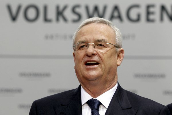 Generálny riaditeľ Volkswagenu Martin Winterkorn.