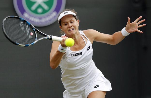 Jana Čepelová predviedla skvelý tenis.