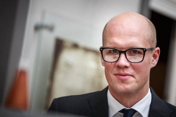 Riaditeľ pre Strednú a Východnú Európu Saab-u Tobias Wennberg.