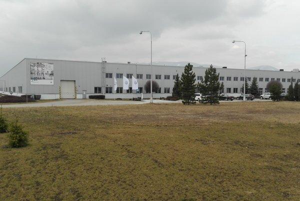 Volskwagen Slovakia v Martine.