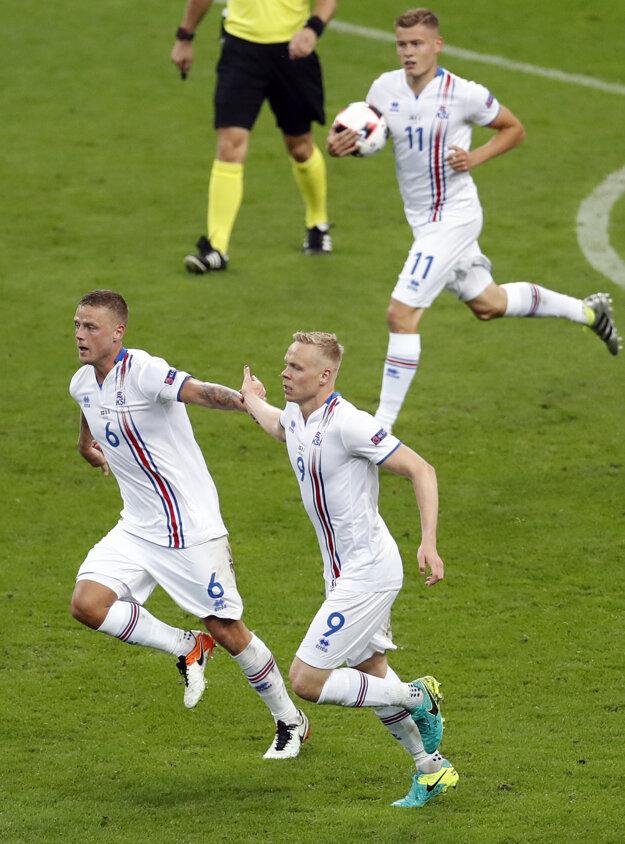 Island dal Francúzsku dva góly.