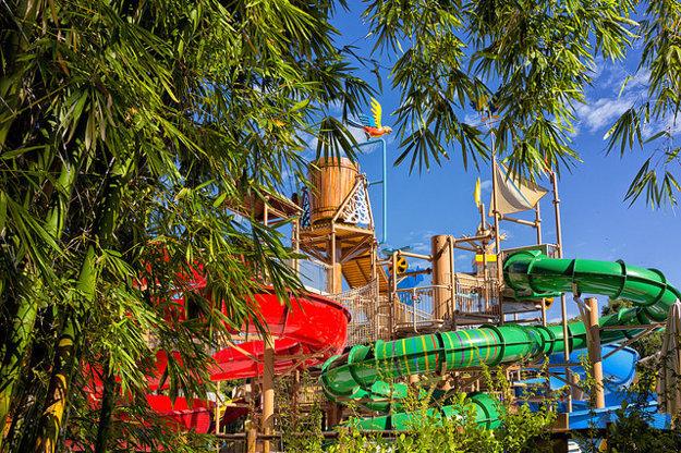 Akvapark Hot Park v Brazílii.