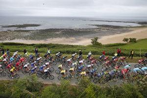 Do cieľa v Paríži príde rekordný počet cyklistov.