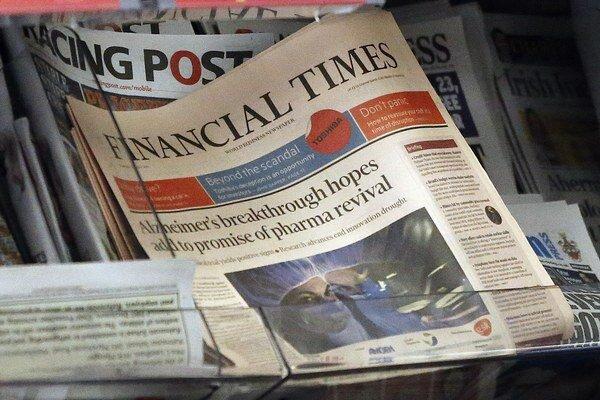 Financial Times založili v roku 1888 James Sheridan and Horatio Bottomley.