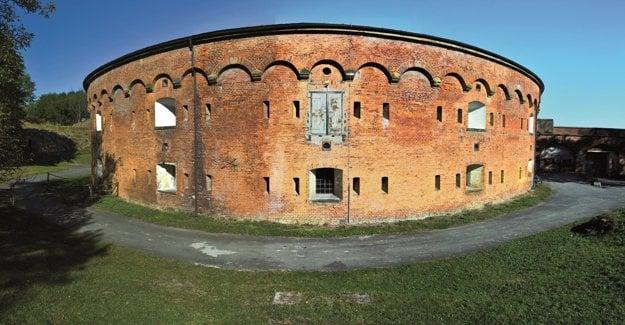 Pevnosť Křelov v Olomouci.
