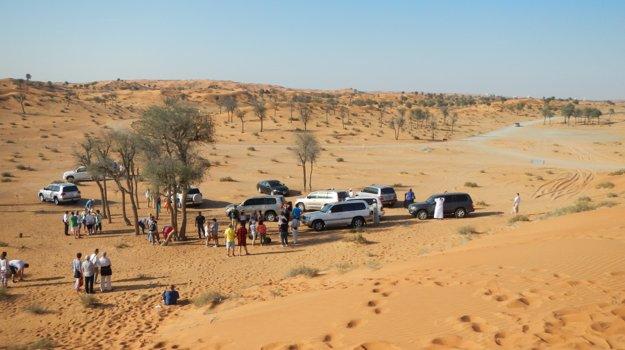 Rasl Al Khaima: Púštne oblasti sú veľkým lákadlom Egypta.