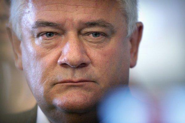 Bývalý predseda Slovenskej národnej strany Ján Slota.