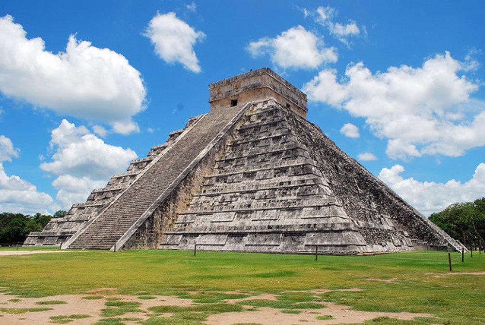 Pyramída Chichen Itzá, najvyhľadávanejšia archeo lokalita v Mexiku.