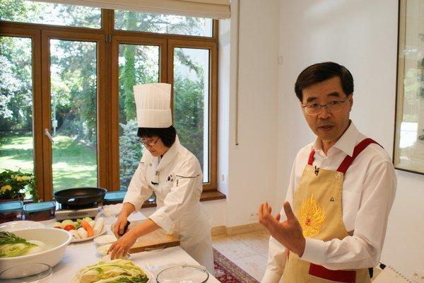 Veľvyslanec Kórejskej republiky na Slovensku Sang-Hoon Park.