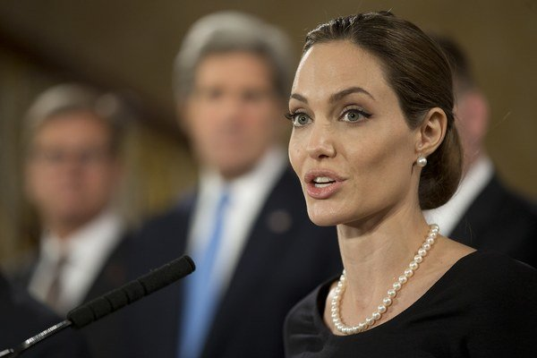 Angelina Jolieová.