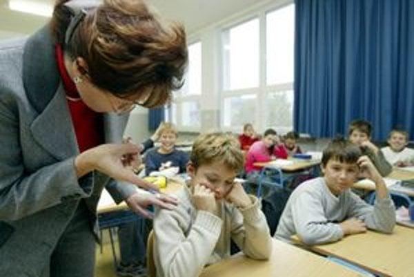 Či si učiteľ zasadol na žiaka, sa v praxi ťažko preukazuje.