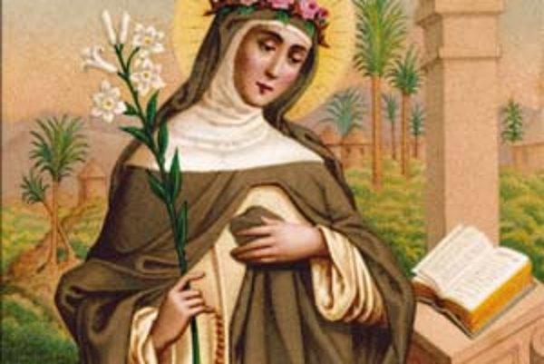 Hildegarda z Bingenu.