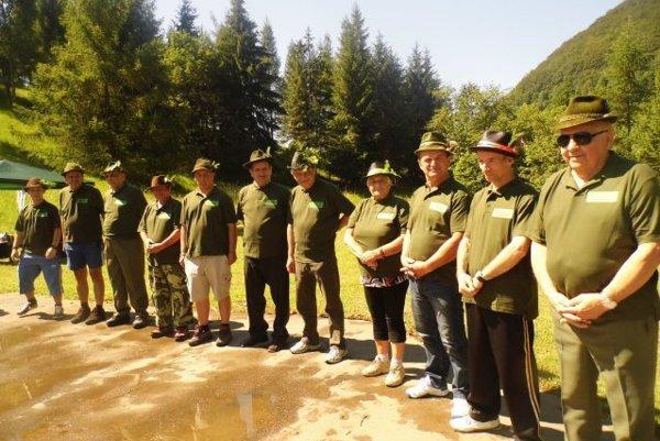 Na poľovníckej súťaži zažili súťažiaci množstvo zábavy.
