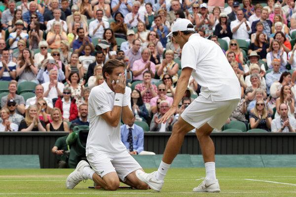 Francúzska dvojica ovládla štvorhru vo Wimbledone.