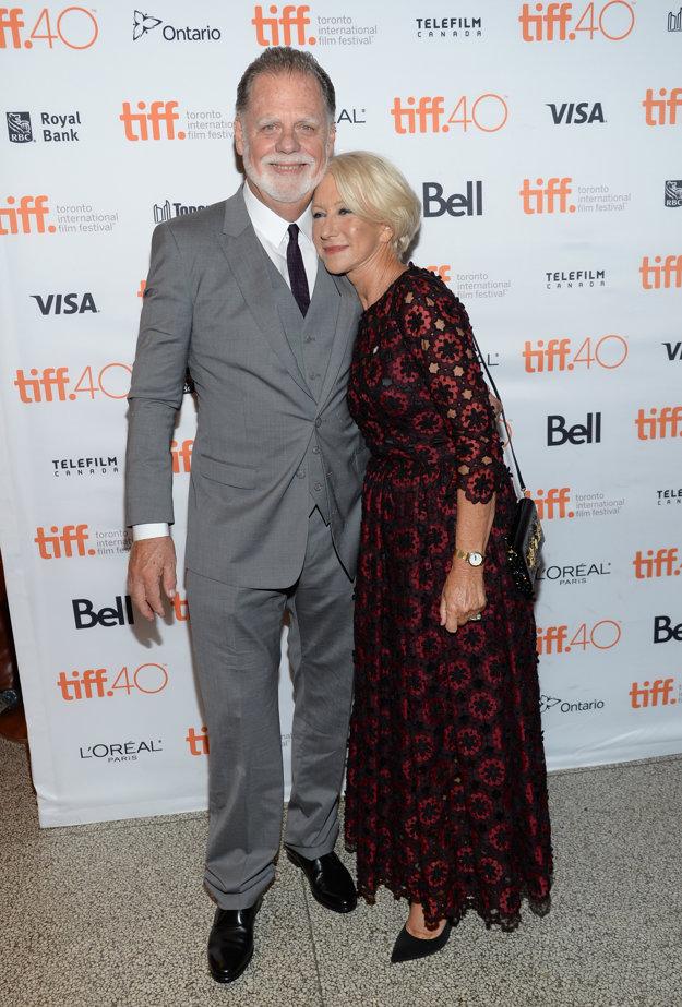 S manželom Taylorom Hackfordom