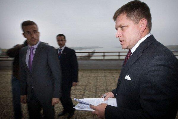 Premiér si pozrel Gabčíkovo aj počas výjazdového rokovania vlády.
